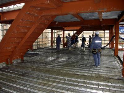 デッキコンクリート工事『Nagao-4PROJECT新築工事』