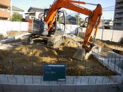 埋め戻し『Nagao-4PROJECT新築工事』
