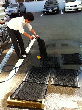 恒例の大掃除