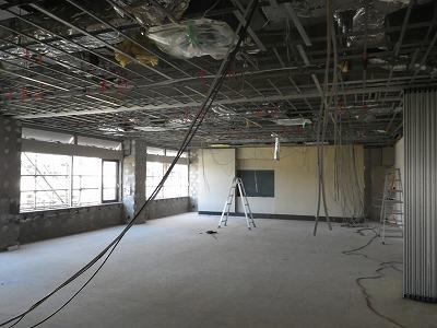 (仮称)FILA学院新築内装工事 解体工事の状況です。