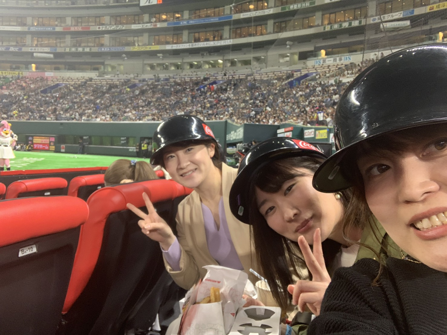 福岡ソフトバンクホークス野球観戦